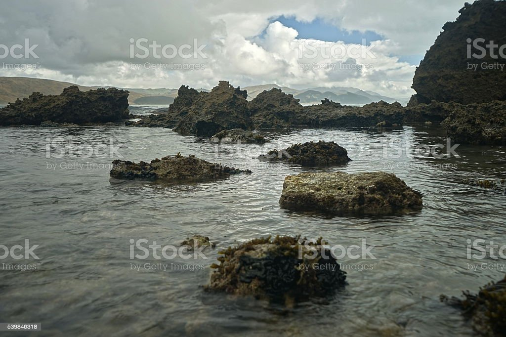 Rocky Bay stock photo