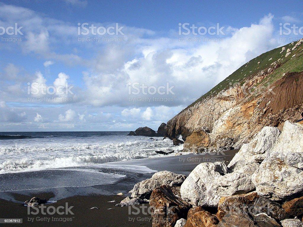 Rocky Bay royalty-free stock photo
