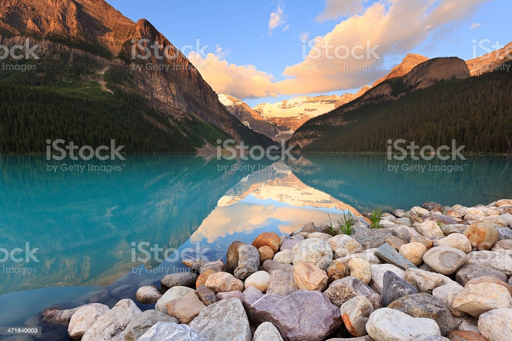 Rocky Beach at Louise royalty-free stock photo