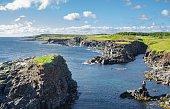 Rocky Cape Bonavista coastline in Newfoundland, Canada.
