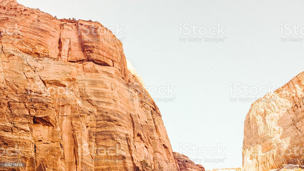 Rocky Cliffs stock photo