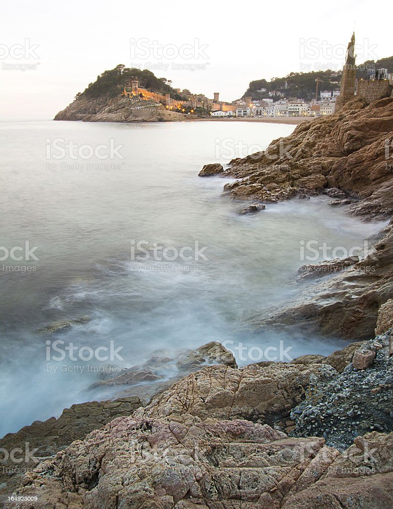 Rocky Coast royalty-free stock photo