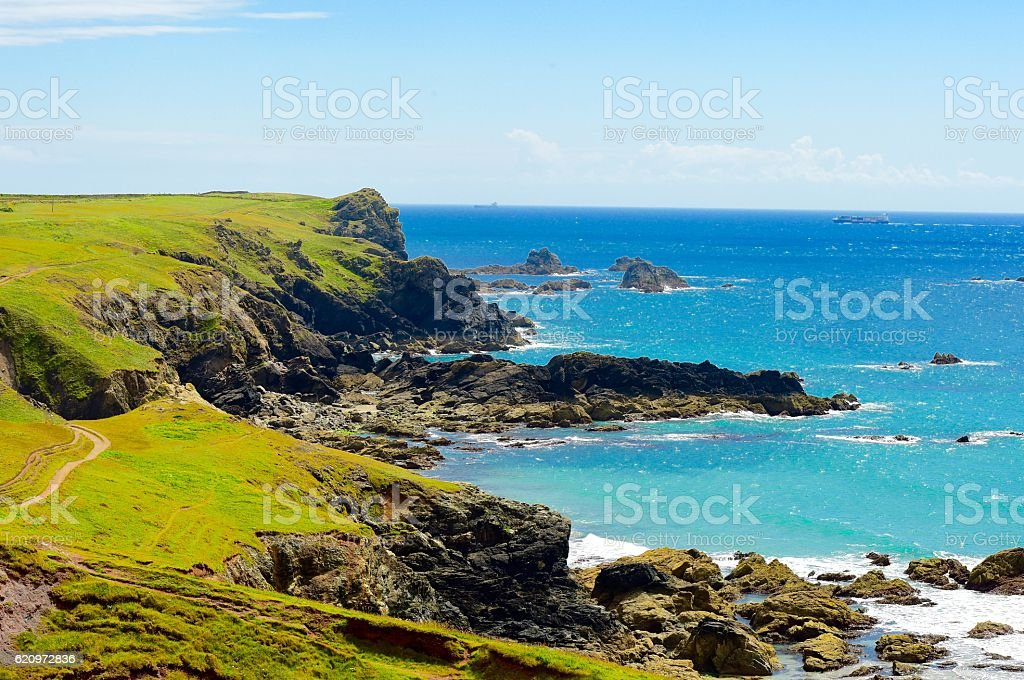 Rocky Coastline stock photo