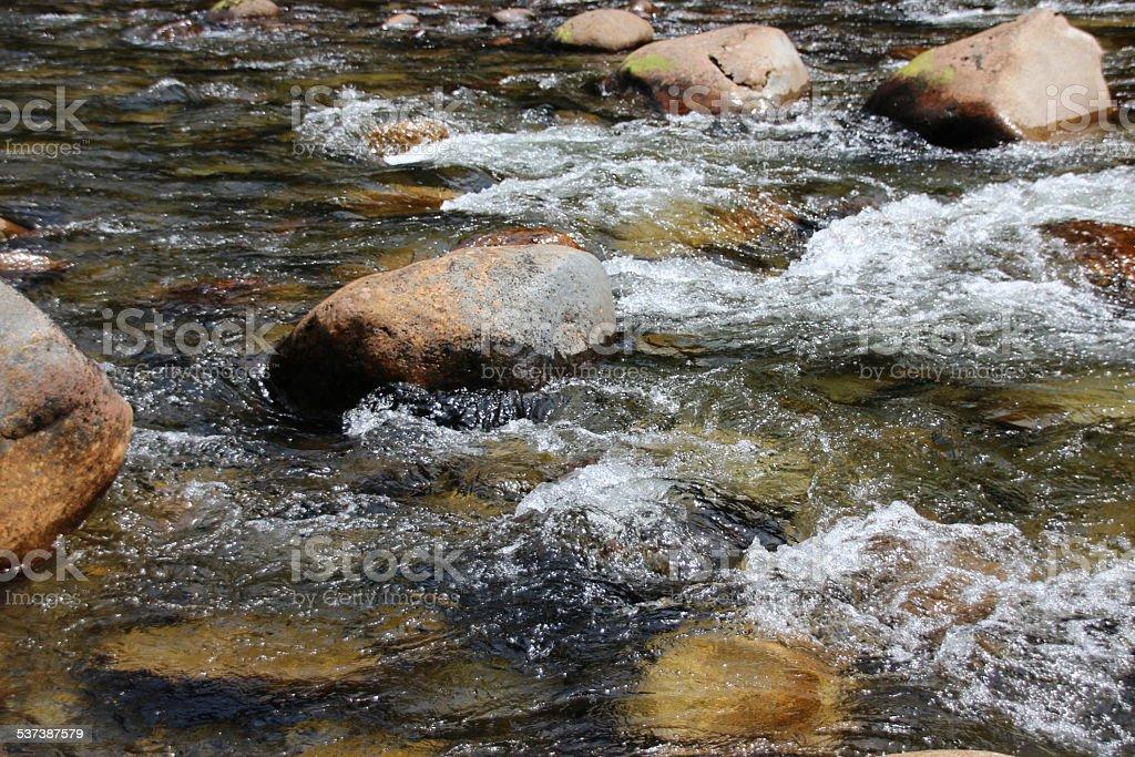 Rocky Creek stock photo