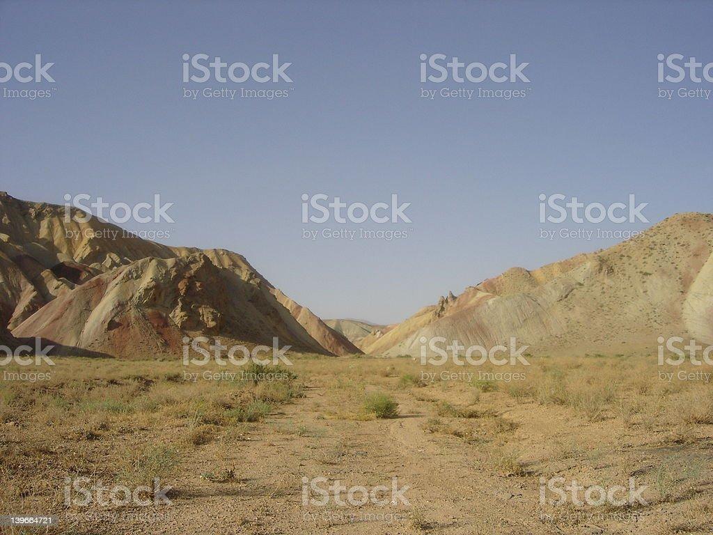 Rocky Desert royalty-free stock photo