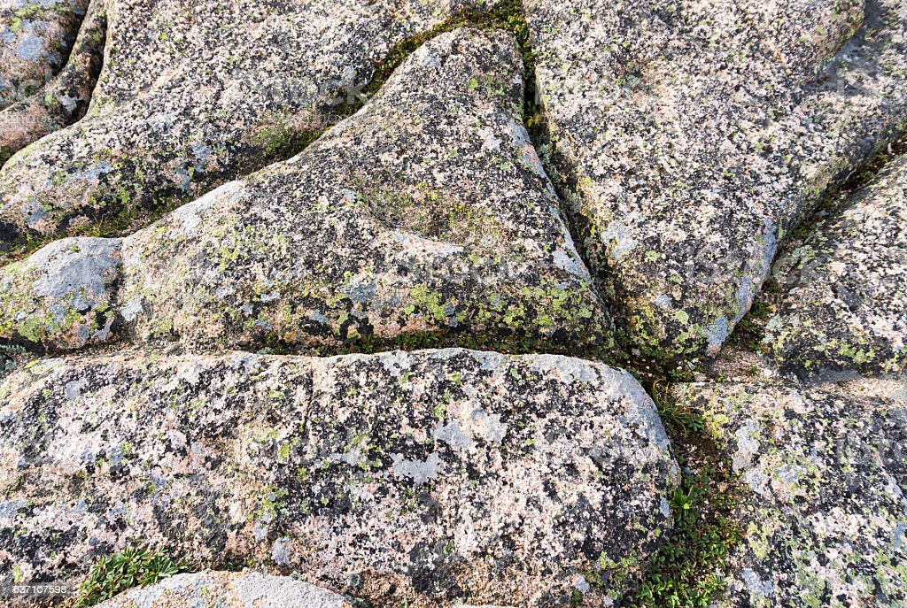 rocky granite horizontal background stock photo