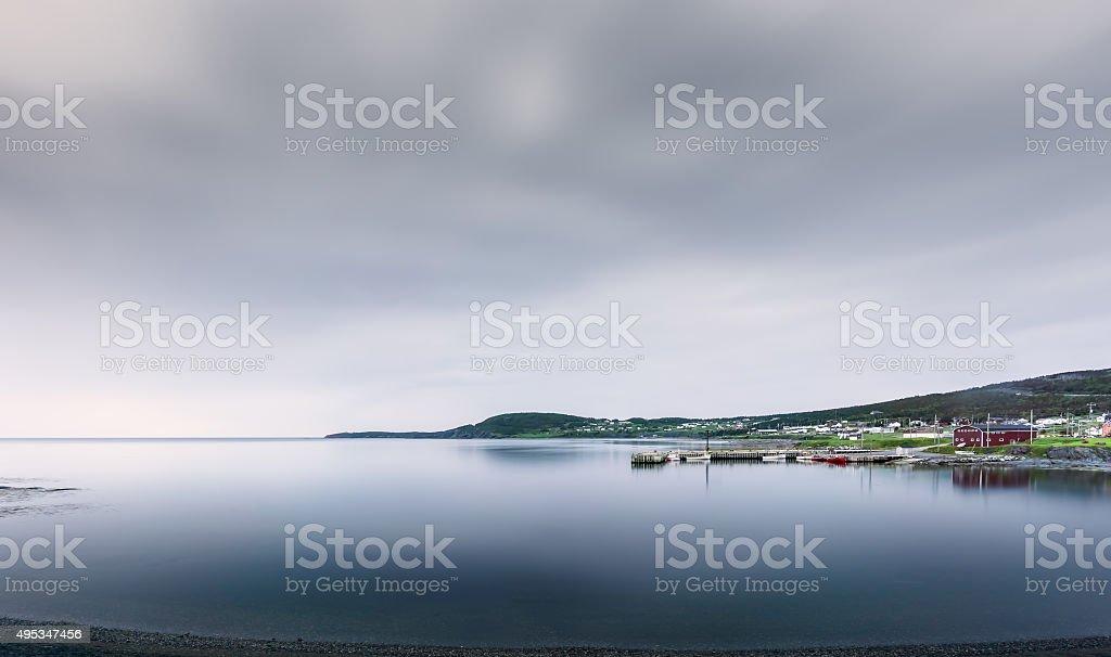 Rocky Harbour Newfoundland stock photo