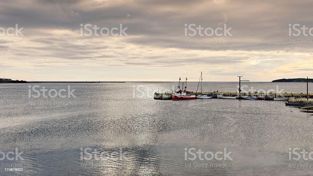 Rocky Harbour stock photo