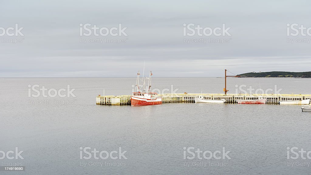 Rocky Harbour royalty-free stock photo