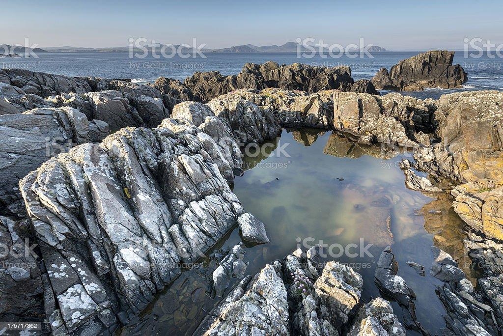 Rocky Irish coastline royalty-free stock photo