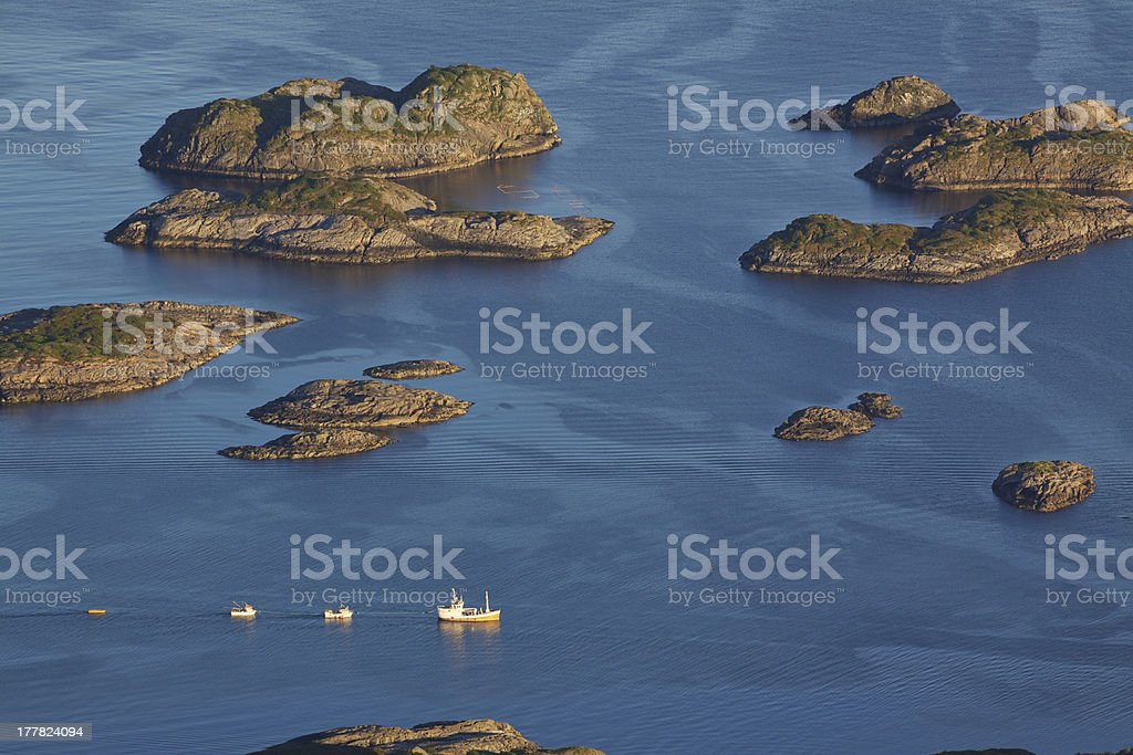Rocky islands royalty-free stock photo