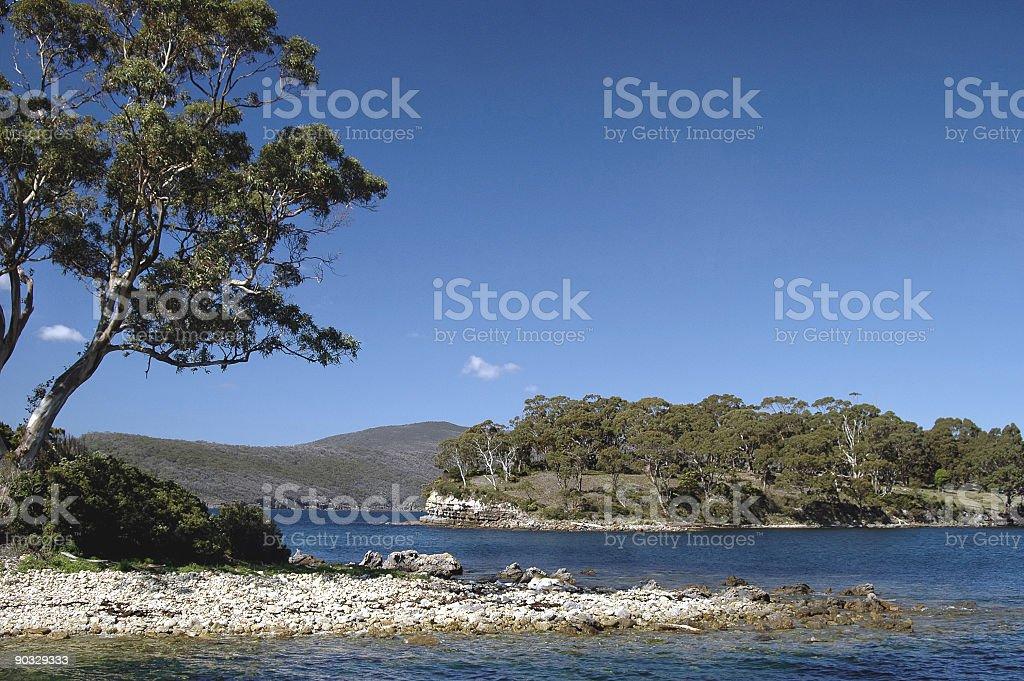 Rocky Isle stock photo