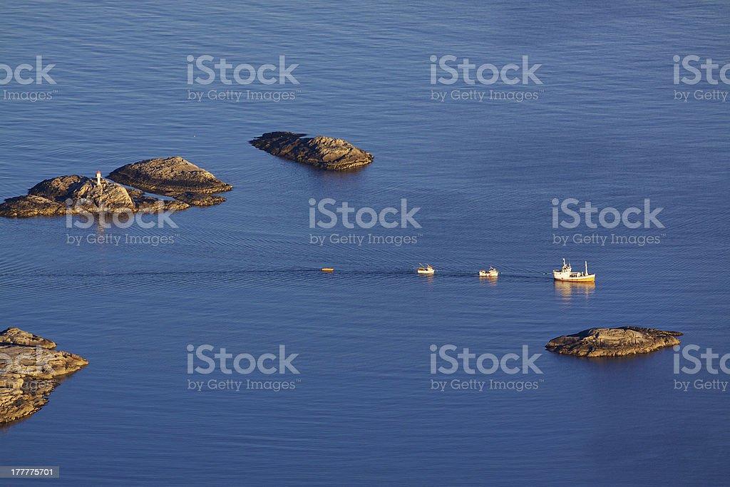 Rocky islets royalty-free stock photo