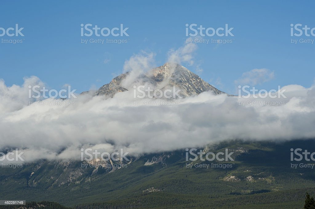 Rocky Mountain, Banff National Park royalty-free stock photo