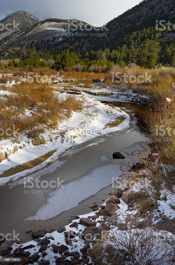Rocky Mountain Landscape royalty-free stock photo