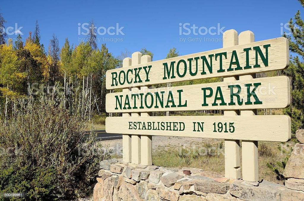 Rocky Mountain National Park, Colorado royalty-free stock photo