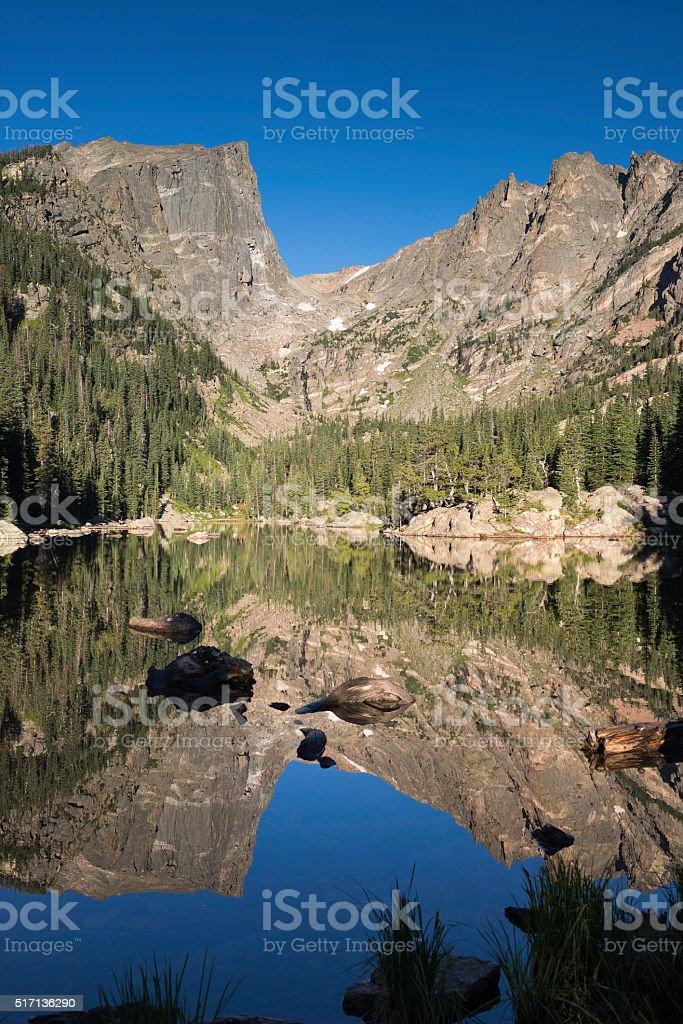 Rocky Mountain National Park in Colorado stock photo