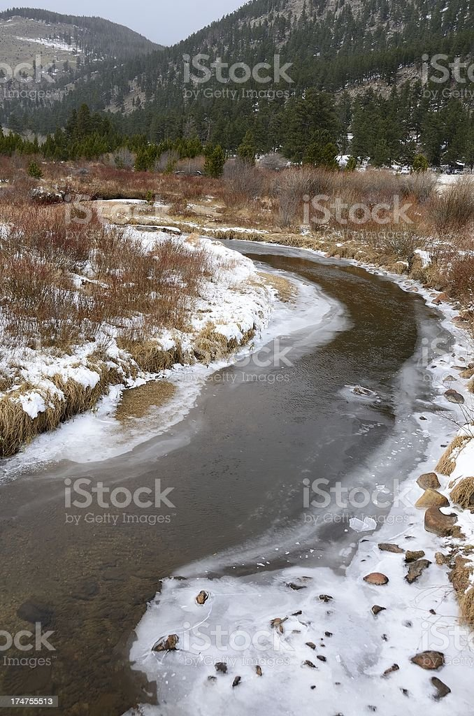 Rocky Mountain National Park royalty-free stock photo