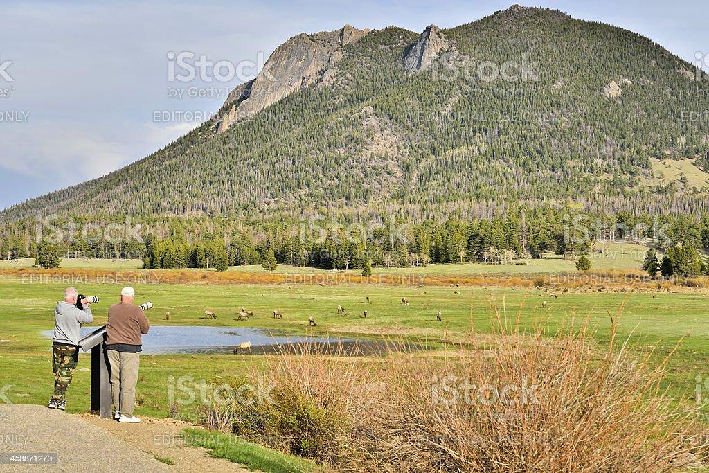 Rocky Mountain National Park. stock photo