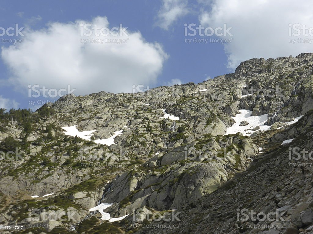 Rocky mountain stock photo