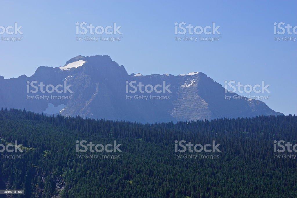 Rocky Mountain Purple Stone stock photo