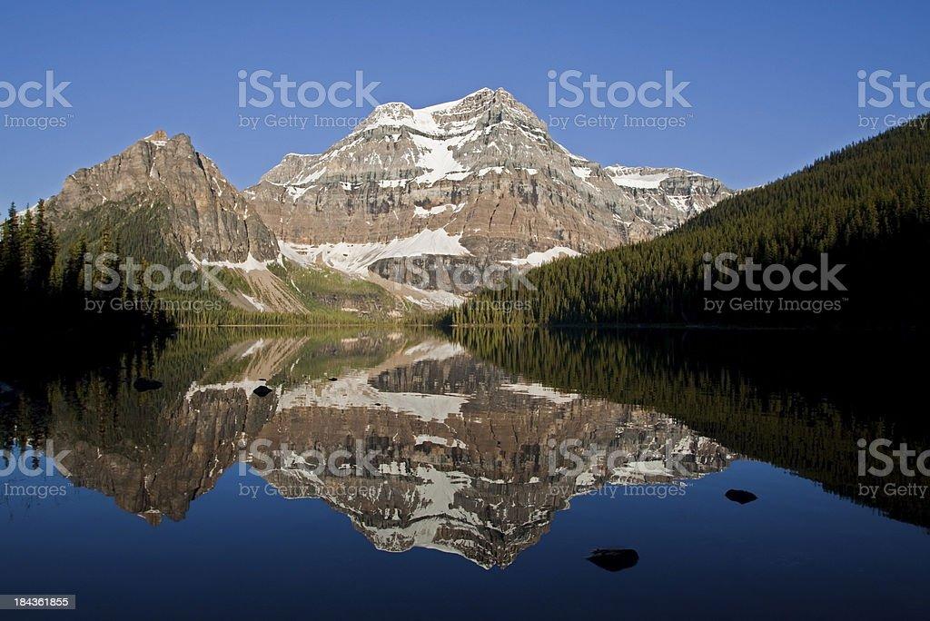 Rocky Mountain Reflection royalty-free stock photo