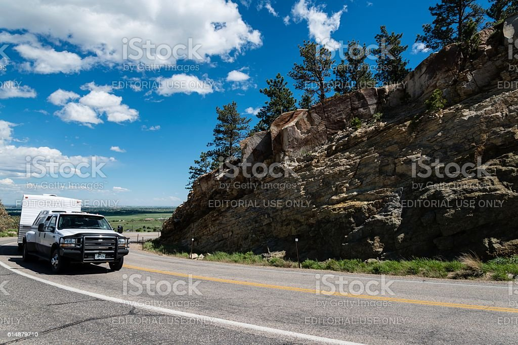 Rocky Mountain Road Trip, Fort Collins, Colorado stock photo