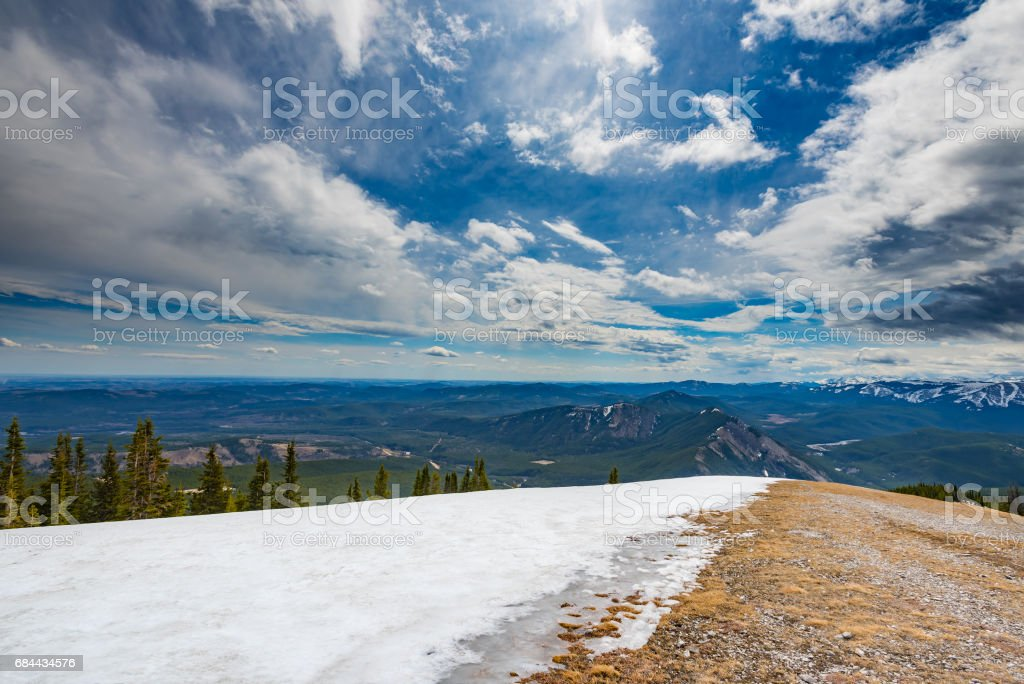 Rocky Mountain Views stock photo