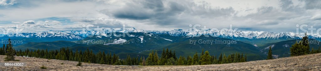 Rocky Mountain Views stock photo