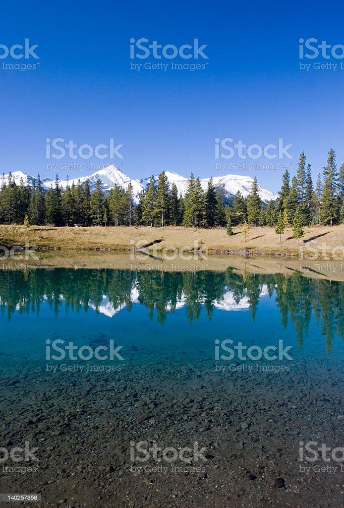 Rocky Mountain Wilderness royalty-free stock photo