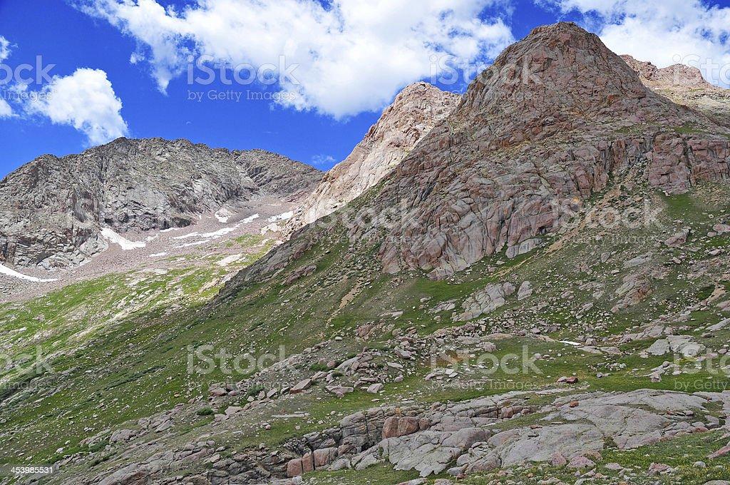 Rocky Mountains, Colorado royalty-free stock photo