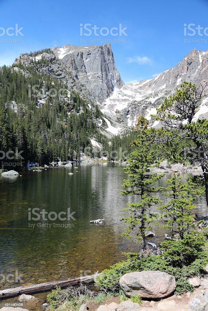 Rocky Mountains Colorado stock photo