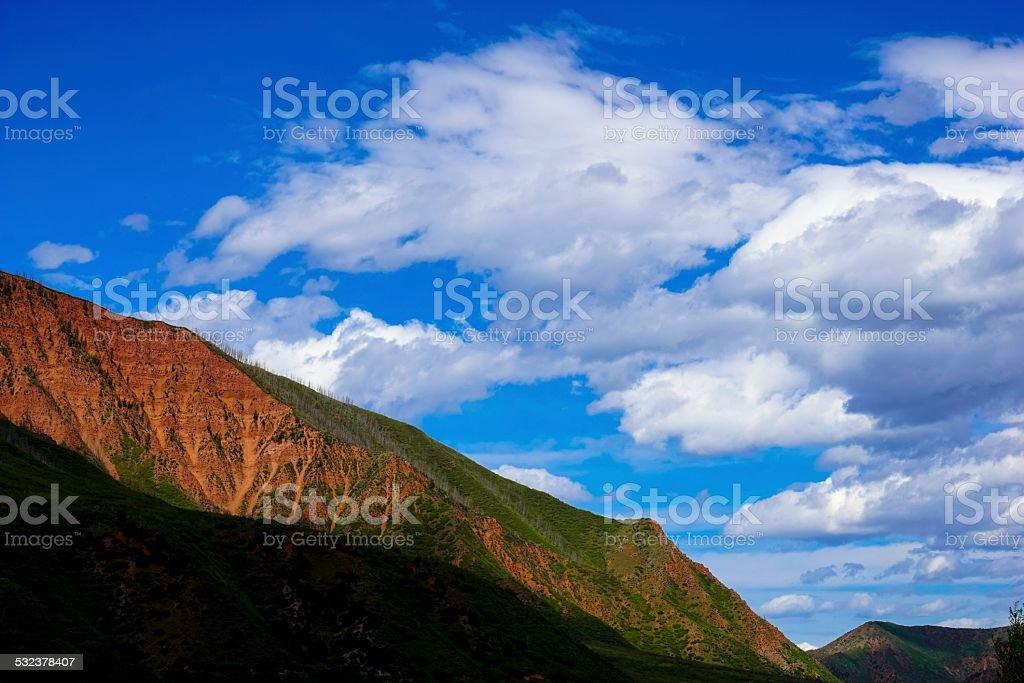 Rocky Mountains, Glenwood Springs stock photo