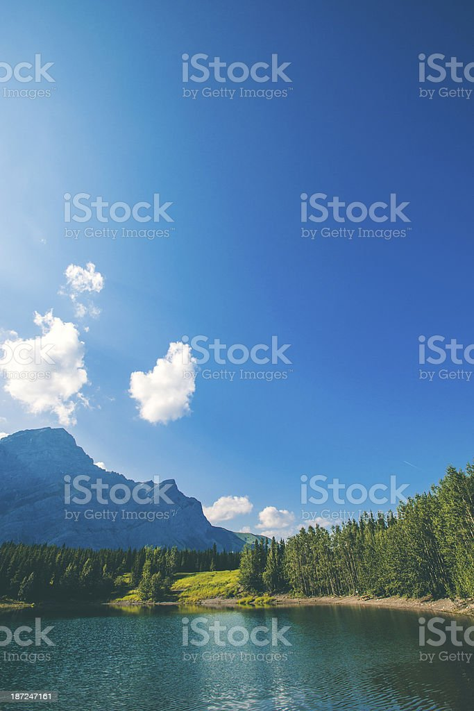 Rocky mountains landscape. royalty-free stock photo