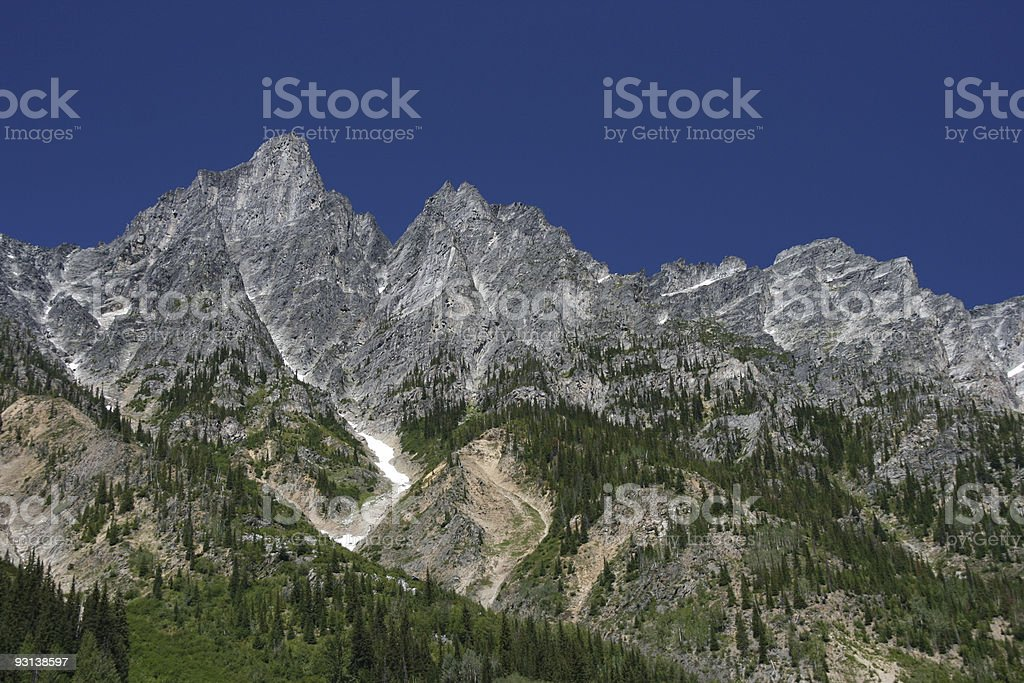 Rocky Mountains landscape royalty-free stock photo