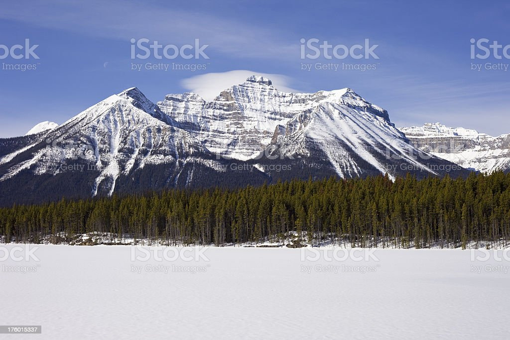 Rocky Mountains royalty-free stock photo