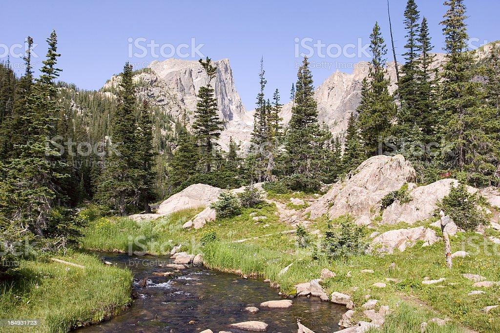 Rocky Mountains Scenic stock photo
