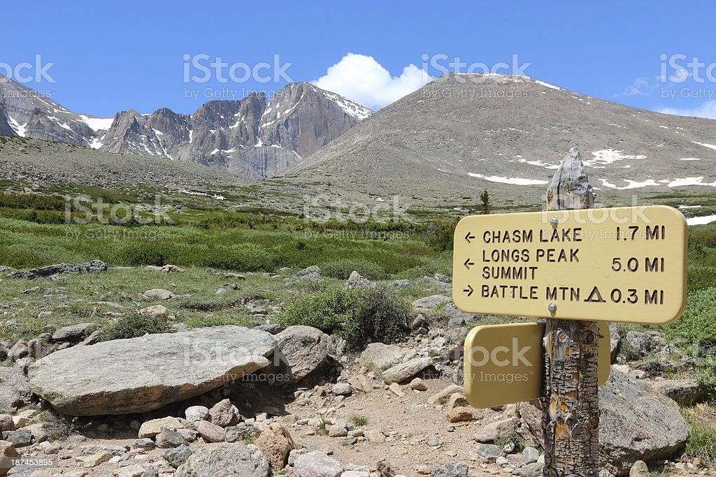 Rocky Mountains, USA stock photo