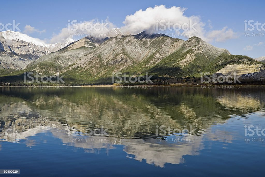 Rocky Mountains View stock photo
