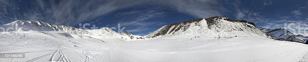 Rocky Mountains  XXXL royalty-free stock photo
