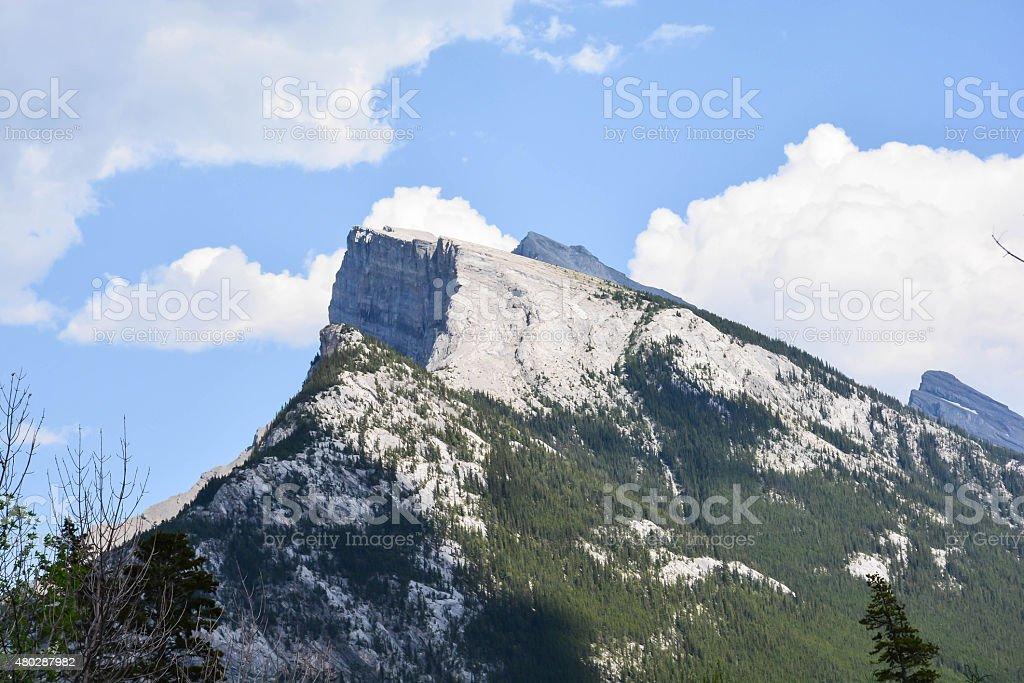 Rocky Mountains-5 stock photo