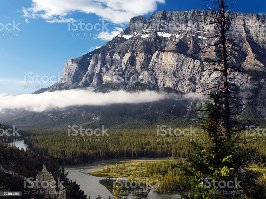 Rocky Mountins - Banff National Park - Canada stock photo