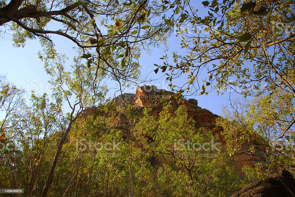 Rocky Peak at Nourlangie royalty-free stock photo