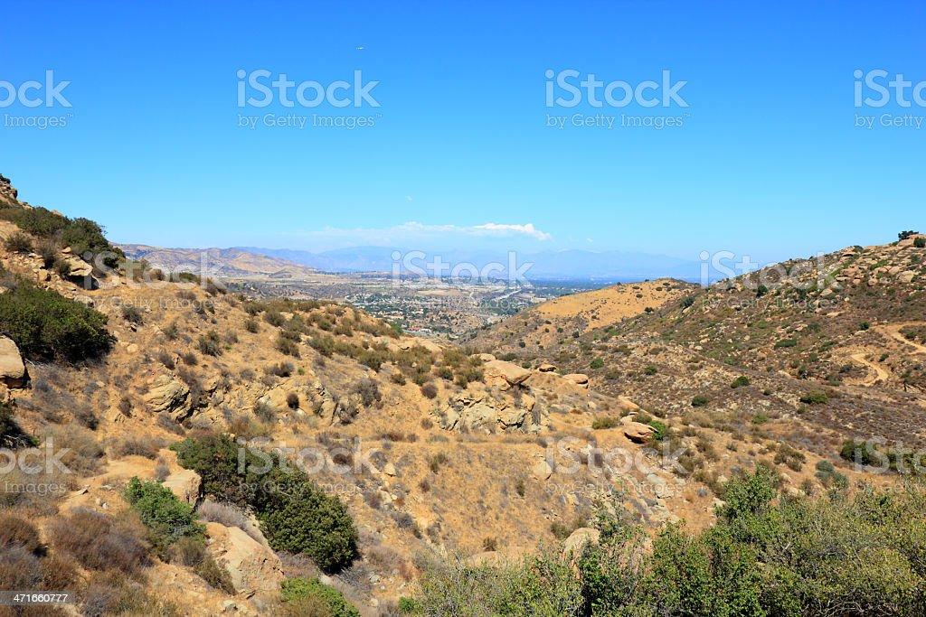 Rocky Peak Trails royalty-free stock photo