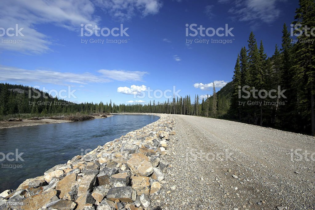 Rocky River (Series-two) stock photo