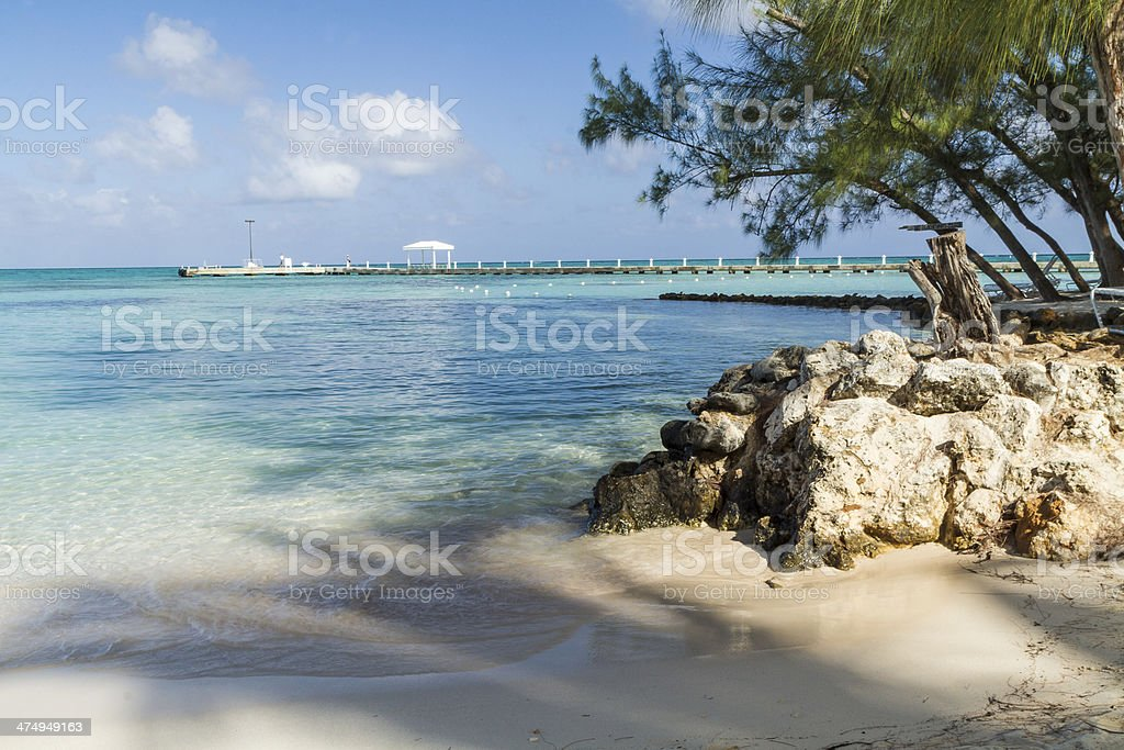 Rocky Rum Point stock photo