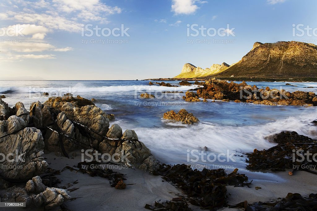 Rocky seascape stock photo