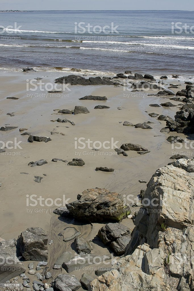 Rocky Seashore stock photo