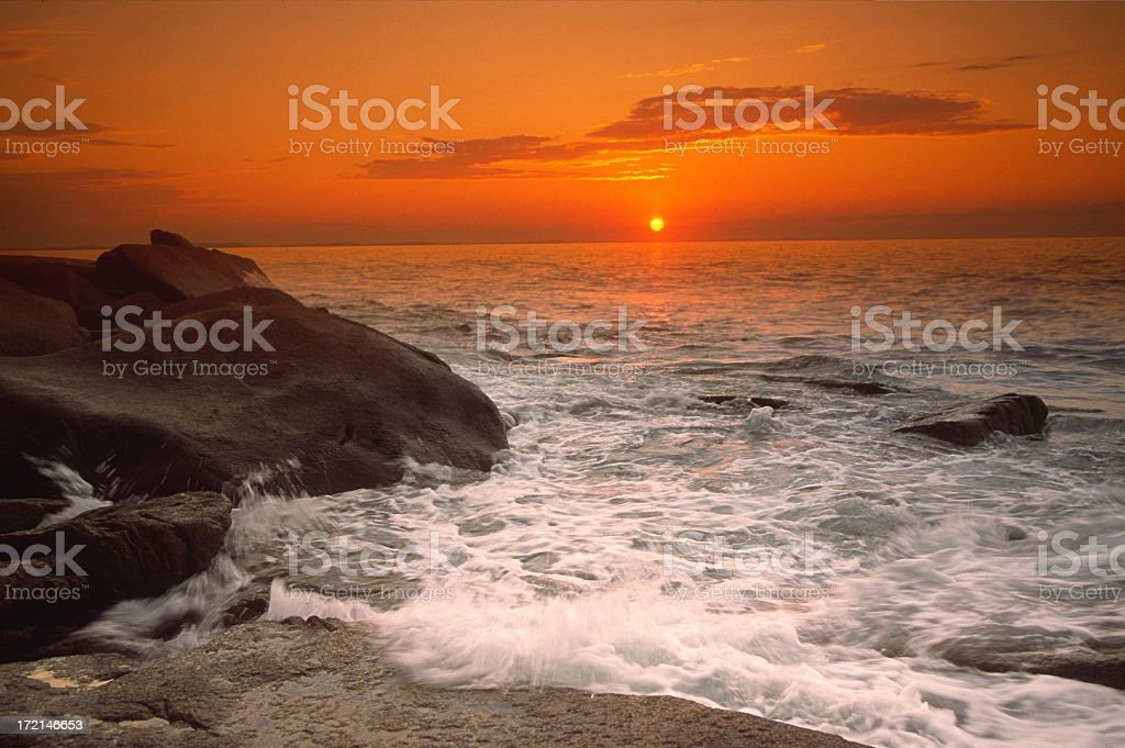 Rocky Shore stock photo