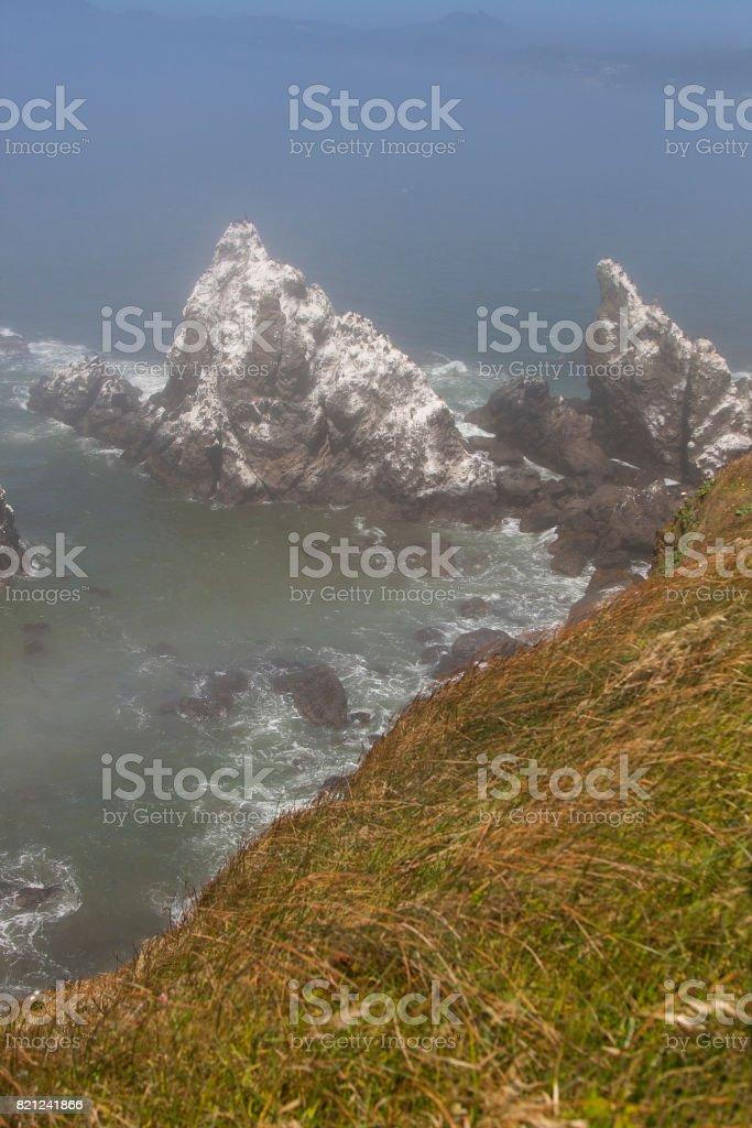 Rocky Shoreline stock photo